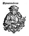 Portrait of Bynus Medicus, bust. Wellcome M0004115.jpg