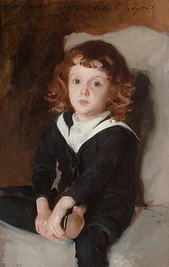 Francis Davis Millet - Portrait of Laurence Millet, John Singer Sargent, 1887