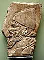 Portrait of an Assyrian soldier from Nimrud, Iraq, 900-700 BCE. British Museum.jpg