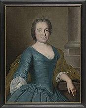 Portret van Maria de Hondt