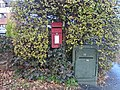 Post box at Grange Cross Lane.jpg