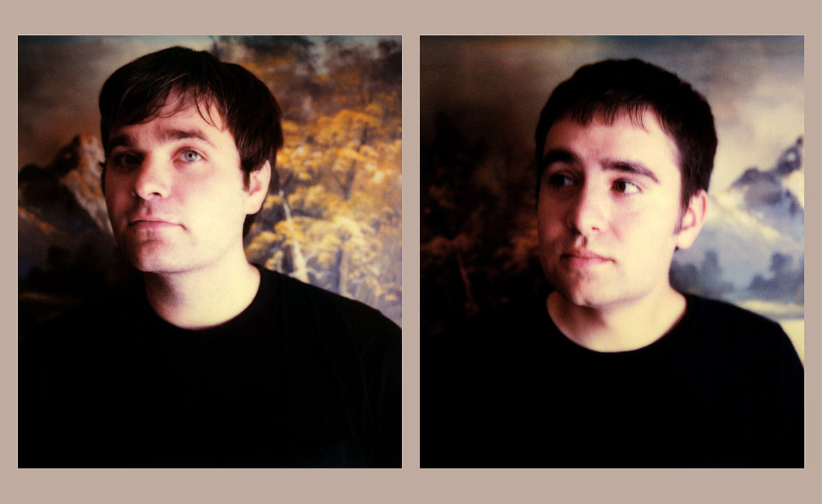 Ben Gibbard (left) and Jimmy Tamborello (right)