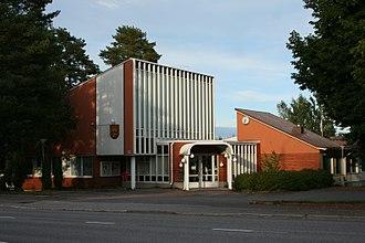 Pöytyä - Image: Poytyan kunnantalo