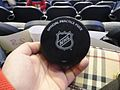 Practice puck from Kopecky (5441800547).jpg