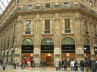 Prada Italian luxury fashion house