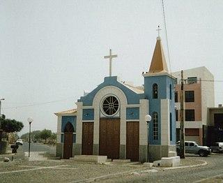 Achada Santo António Neighbourhood in Praia, Santiago Island, Cape Verde