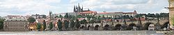 Panorama vo Prag