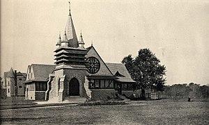 Swarthmore, Pennsylvania - Image: Presby Church in Swarthmore