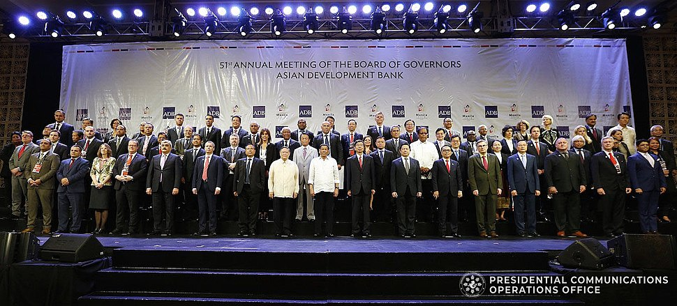 President Rodrigo Roa Duterte at the 51st ADB Annual Meeting