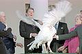 President Ronald Reagan receives the 40th White House Thanksgiving Turkey 1987.jpg