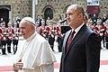 President Rumen Radev Welcomes His Holiness Pope Francis in Bulgaria, 2019-05-05 07.jpg