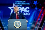 President Trump Delivers Remarks at CPAC (49608880598).jpg