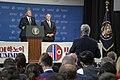 President Trump and Secretary Pompeo Speak to the Press (33360643338).jpg