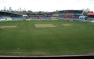 Princes Park (stadium) - View taken from the media box in 2007