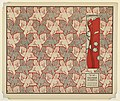 Print, Die Tausend Raben Vorsatz Papier (A Thousand Ravens Book End Paper), plate 11, in Die Quelle- Flächen Schmuck (The Source- Ornament for Flat Surfaces), 1901 (CH 18670543-2).jpg