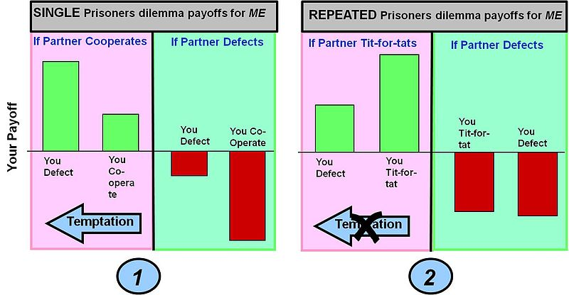 prisoners dilemma Why do people make decisions that don't seem to make sense one answer, which comes from game theory, is called the prisoner's dilemmathe prisoner's dilemma explains why people make.