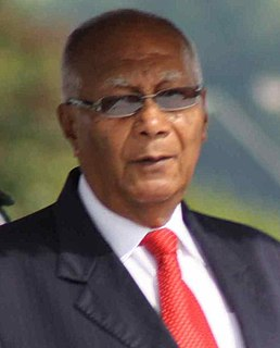 George Maxwell Richards President of Trinidad and Tobago