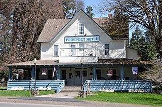Prospect, Oregon Census-designated place in Oregon, United States