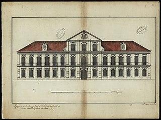 Prospecto da frontaria exterior do palácio da residência dos Excelentíssimos Generais da Cidade e Capitania do Pará