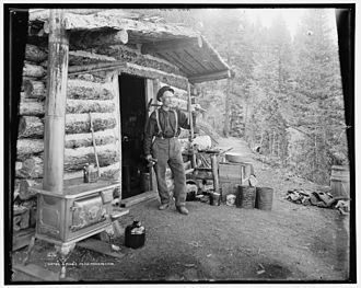 Pike's Peak Gold Rush - Prospector in Pikes Peak