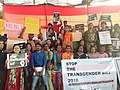 Protest against Transgender Bill in Mumbai, India.jpg