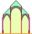 Pseudobasilica with a three-part-roof.png