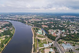 Pskov City in Pskov Oblast, Russia
