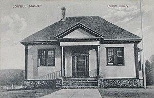 Lovell, Maine - Charlotte Hobbs Memorial Library