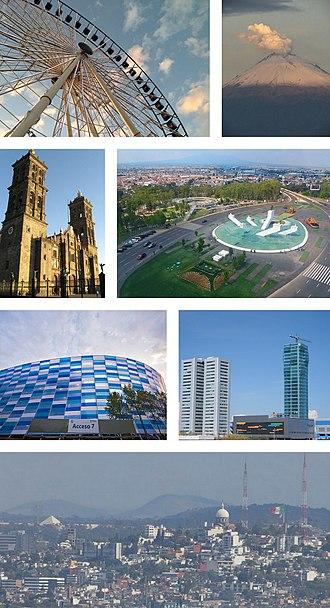 Puebla City - Image: Puebla montage