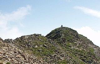 Monte Civrari Mountain in Italy