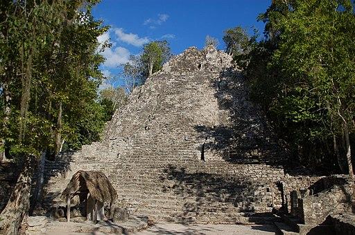 Pyramide du Grupo Coba dite l'église (8452064401)