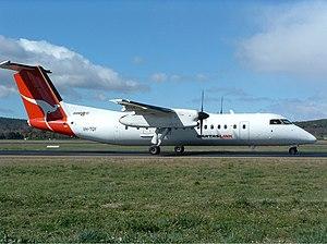 QantasLink (Eastern Australia Airlines) Bombardier Dash 8-Q315 CBR Gilbert.jpg