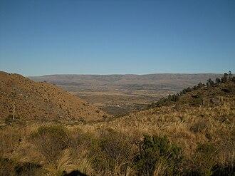 Quebrada del Condorito National Park - Image: Quebrada Condorito