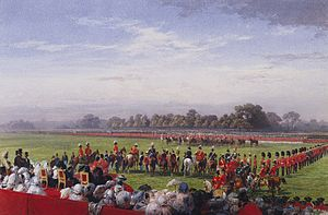 George Walters (VC) - Queen Victoria presenting VC in Hyde Park on 26 June 1857