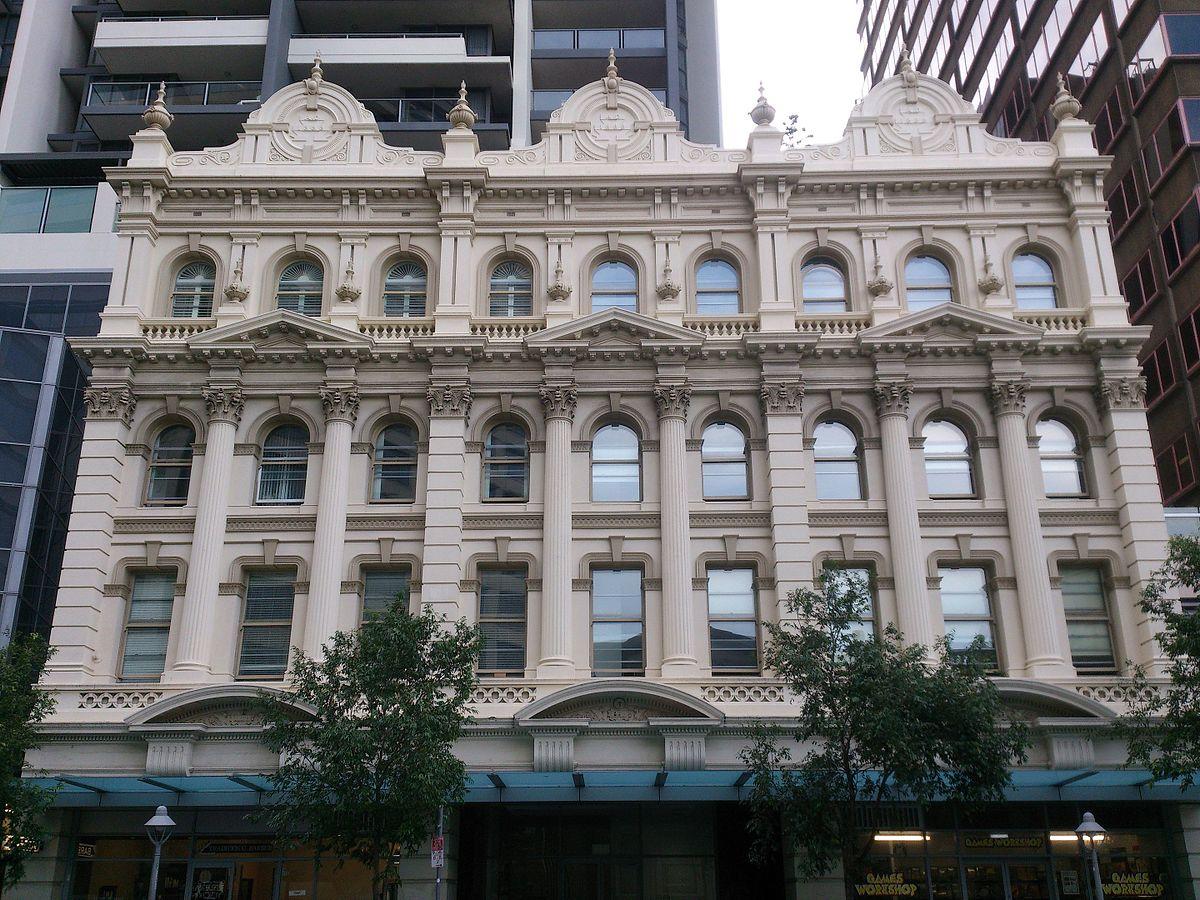 Facade: Queensland Country Life Building Facade