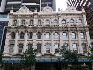 Queensland Country Life Building facade