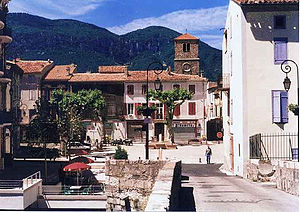 Quillan - Place de la République