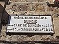 Quincié-en-Beaujolais - Plaque de cocher 2 (mars 2019).jpg