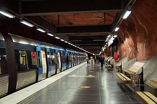 Rådhuset metro station Stockholm Metro station