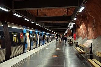 Rådhuset metro station - Image: Rådhuset metro station 3