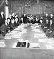 Réunion du XVIIIe congrès de l'UCI à la mairie du IXe arrondissement de Paris en février 1909 (Président de Beukelaer).jpg