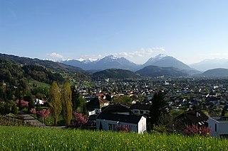 Röthis Place in Vorarlberg, Austria