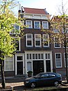 foto van Pand van parterre en twee verdiepingen ter breedte van drie vensters