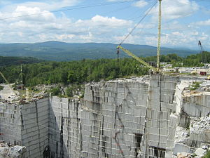 Barre Granite - Another view of the quarry