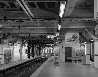 Tower City Center - Red line platforms