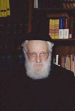 Rabinul Alexandru Safran, 1994, Geneva.jpg