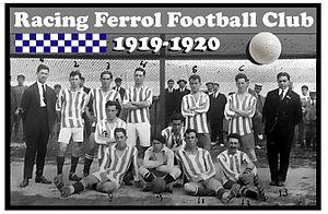 Racing de Ferrol - Racing Club de Ferrol 1919-1920.