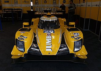 2017 European Le Mans Series - Racing Team Nederland Dallara P127.