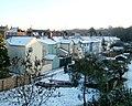 Radyr , Junction Terrace houses viewed from King's Road - geograph.org.uk - 2180017.jpg