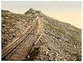 Railway, at the summit, Snowdon, Wales LOC 3752415938.jpg